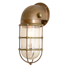 Modern and Industrial Brass Nautical Sconce C1950s