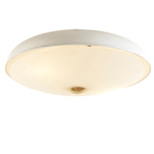 Simple Celestial Mid-Century Flush Mount Fixture c1955