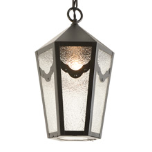 Classically Inspired Colonial Revival Porch Pendant c1925