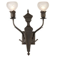 Impressive Classical Revival Entry Sconce c1920