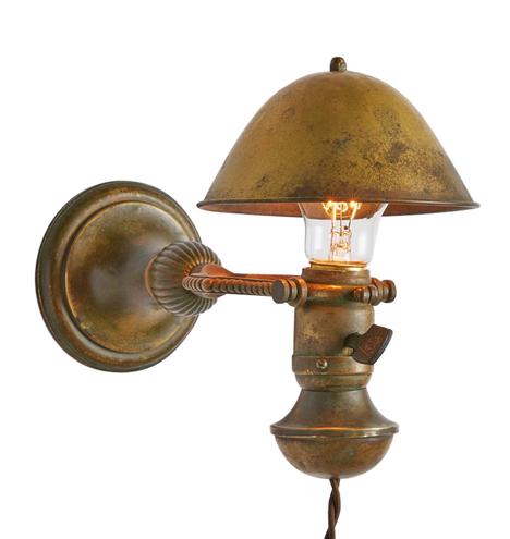 antique cup hooks restored lighting rejuvenation