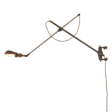Rare O.C. White Model 1G Adjustable Wall Bracket c1910