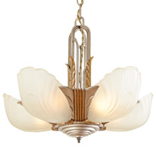 Markel 3000 Line 5-Light Slip Shade Fixture C1933