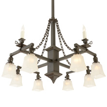 Quintessential Mission 12-Light Chandelier C1910