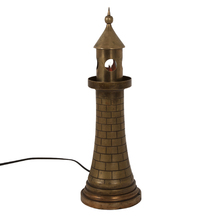 Cast Bronze Lighthouse Lamp c1938