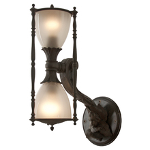Exceptionally Large Hourglass Entry Sconce c1905