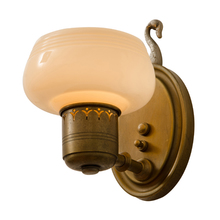 Petite Colonial Revival Sconce w/ Cup Shade c1928