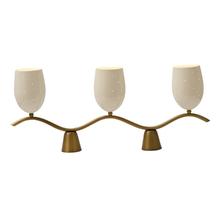 Unique 3-Light Mid-Century Table Lamp c1960's