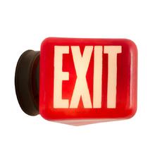 Bright Red Exit Light c1935