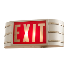 Streamlined Wall Mounted EXIT Sign c1940