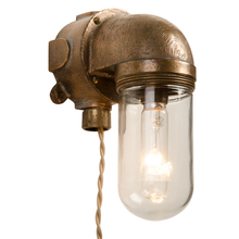 Modern and Industrial Naval Brass Sconce C1950s