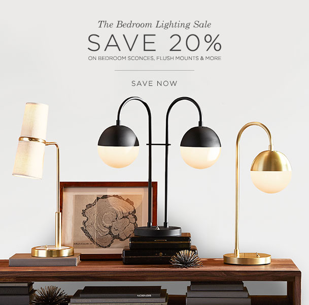 Bedroom Lighting Sale
