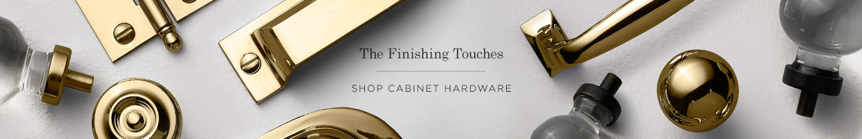 The Finishing Touches: Cabinet Hardware