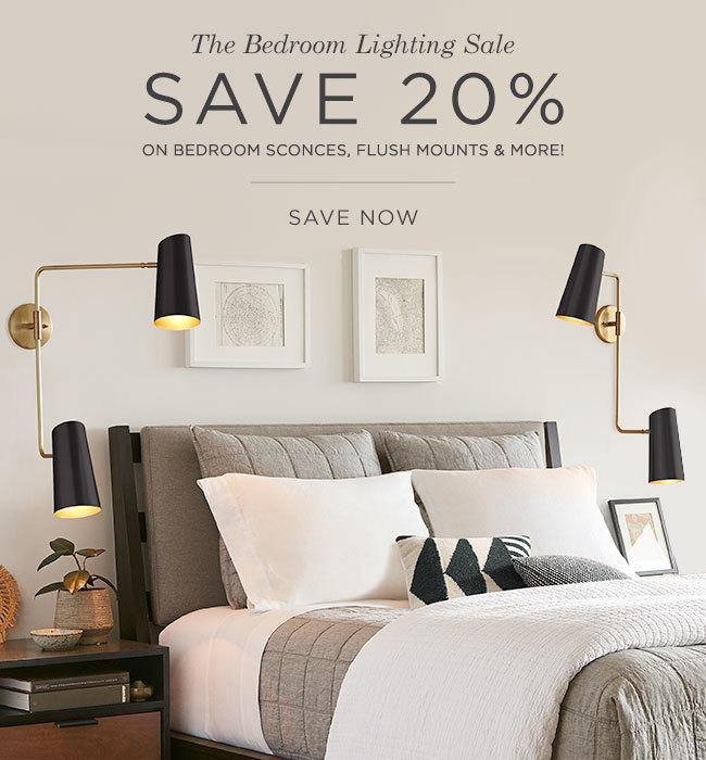 The Bedroom Lighting Sale