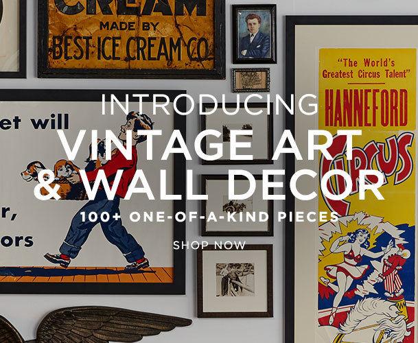 Introducing Vintage Art & Wall Decor