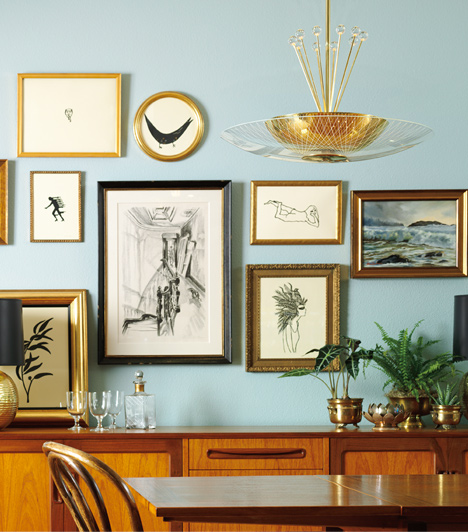 Mid Century Dining Room Plants: Shop By Room: Kitchen