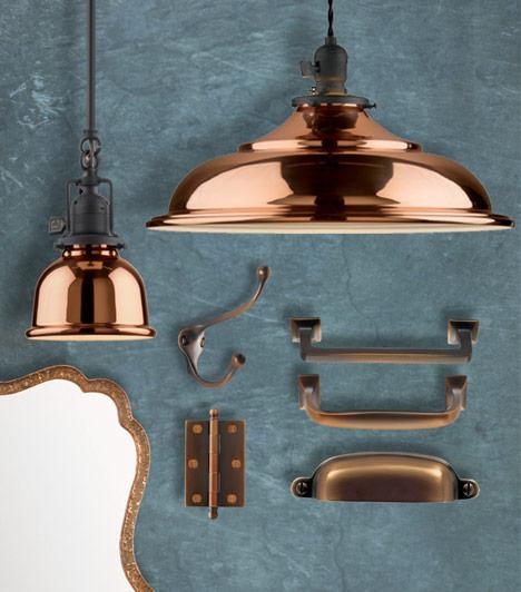 Copper Kitchen Lighting: Commona My House: Downton Abbey Club {Season 4 Premiere