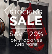 20% Off Stockings & More