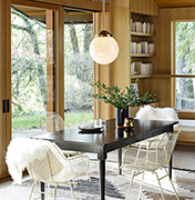 Refined Rustic Dining Room