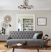 Easy Eclectic Living Room