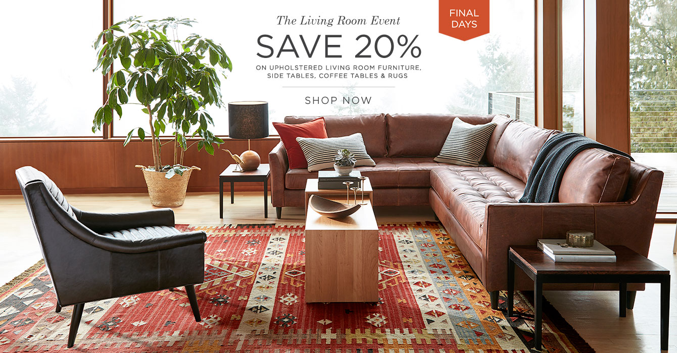 The Living Room Sale Final Days: Save 20%
