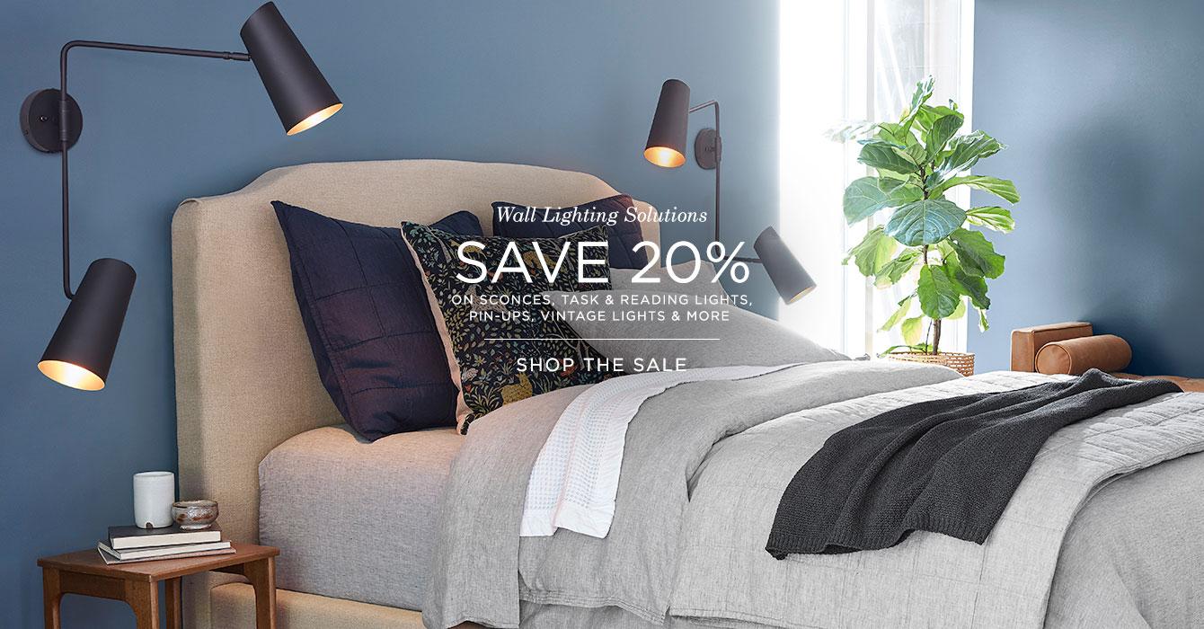 Wall Lighting Sale: Save 20%