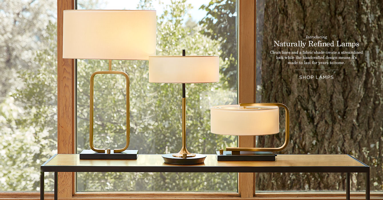 Naturally Refined Lamps