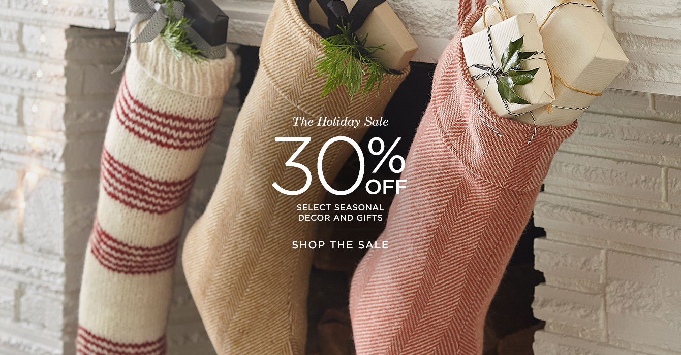 Save 30% at the Holiday Sale