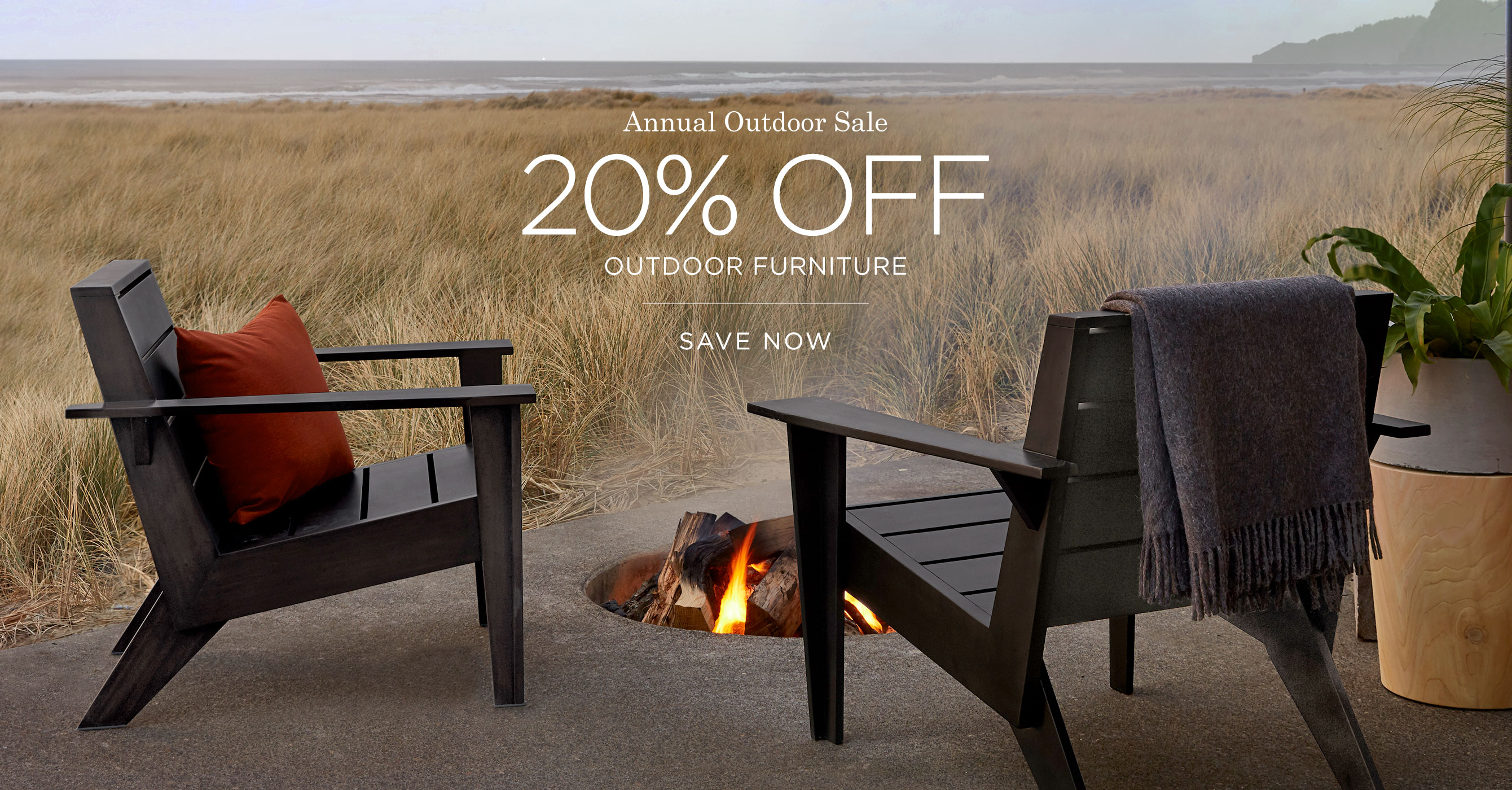 Save 20% on Outdoor Furniture
