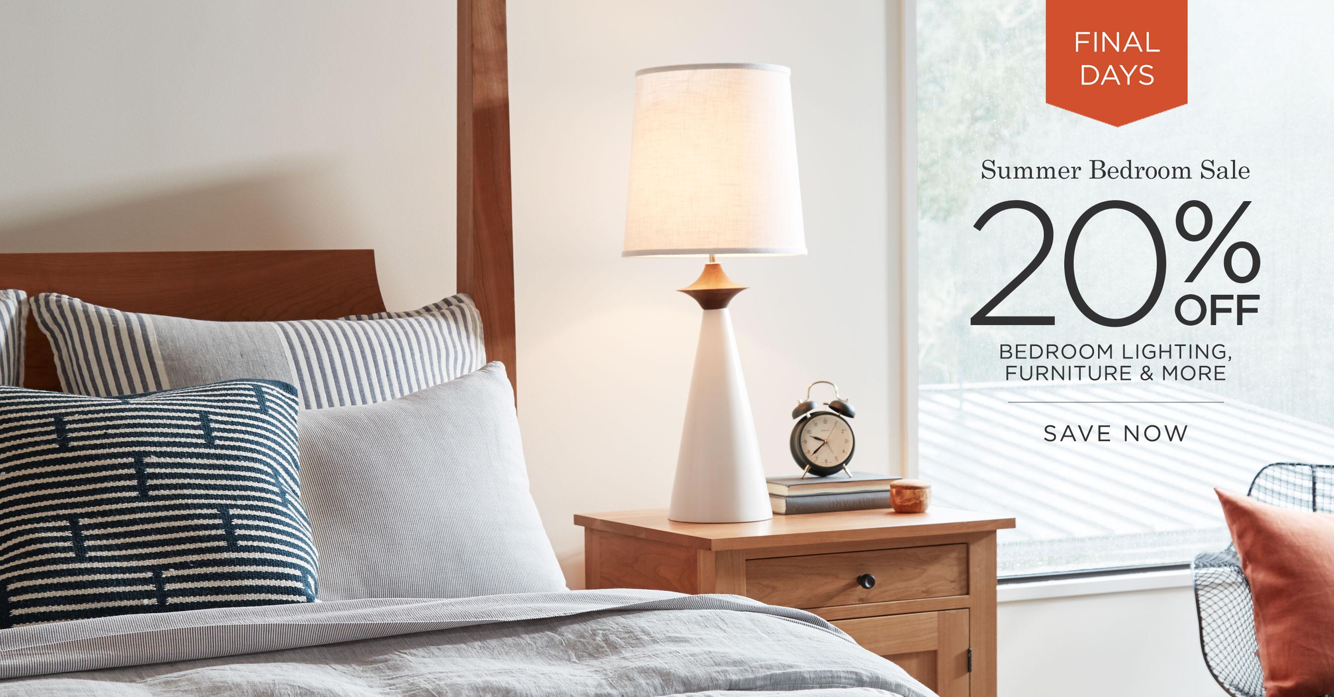 Summer Bedroom Sale