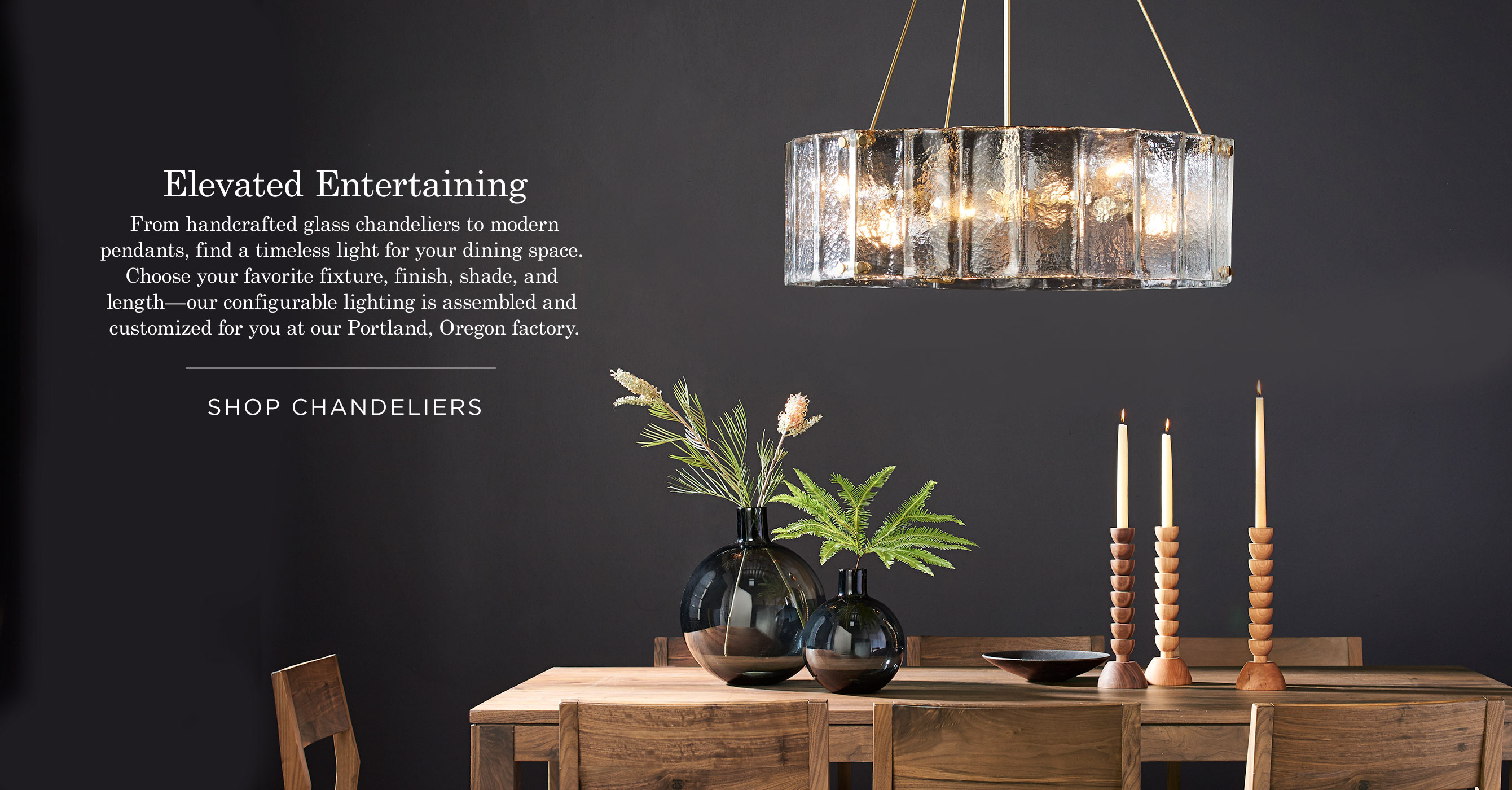 Tips to buy a proper desk lamps lighting and chandeliers - Portland Made Lighting Holiday Gift Guide Willamette Chandelier