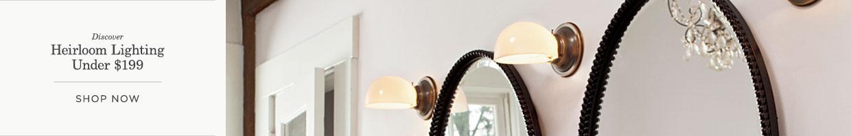 Heirloom Lighting Under $199