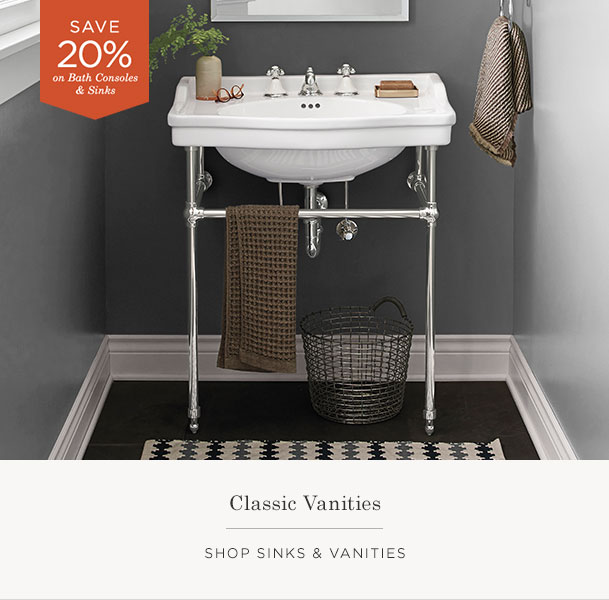 Shop Sinks & Vanities