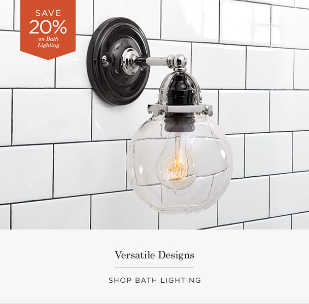 Shop Bath Lighting