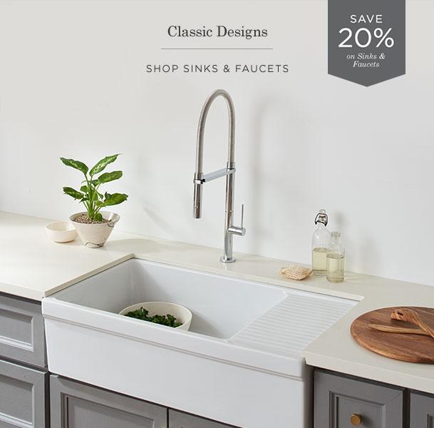 Shop Sinks & Faucets
