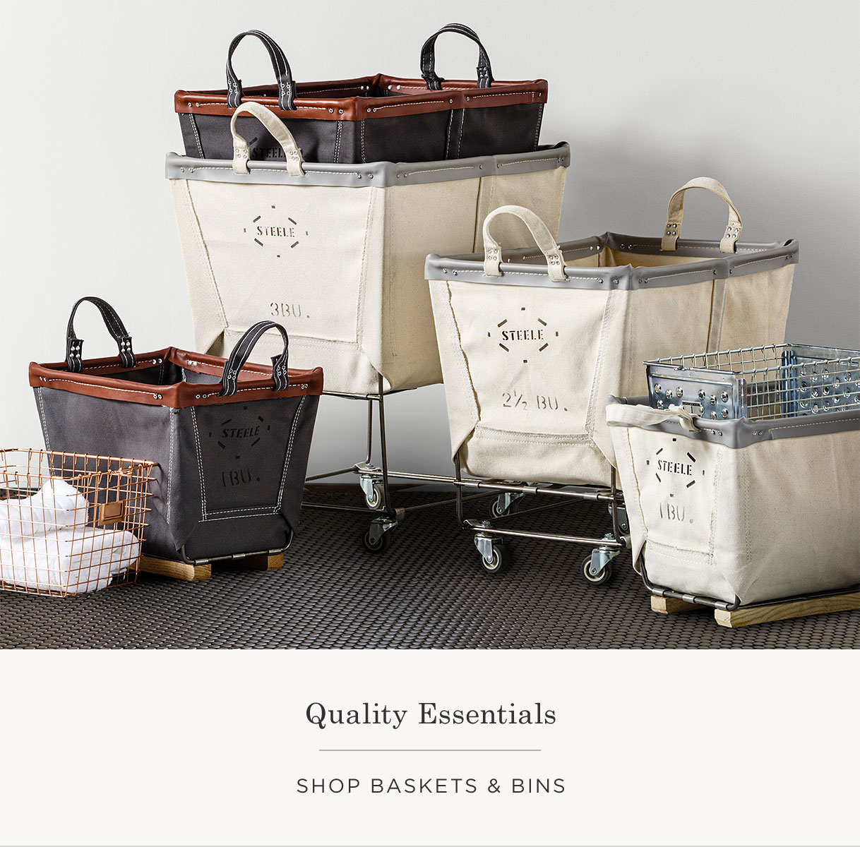 Shop Baskets & Bins