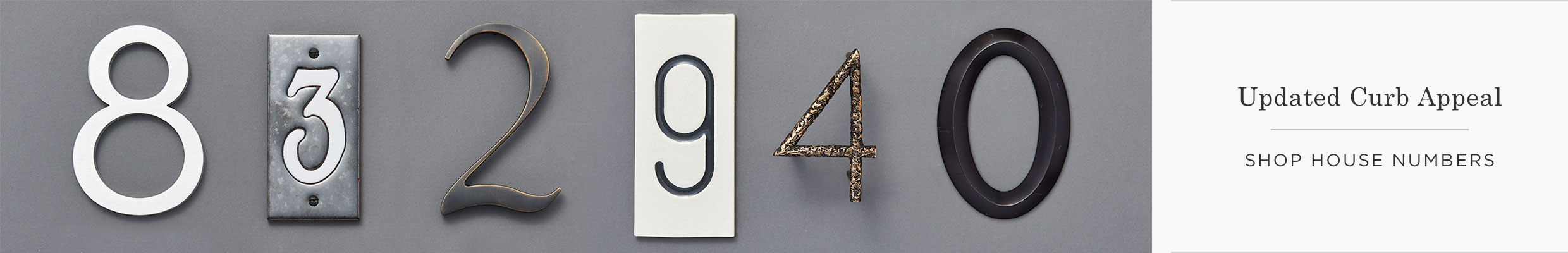 Shop House Numbers