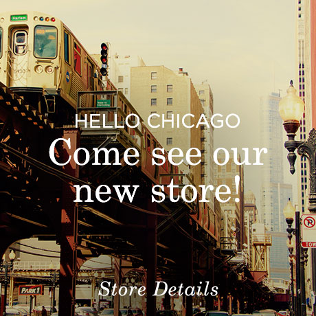 Our New Chicago Store Opens November 21