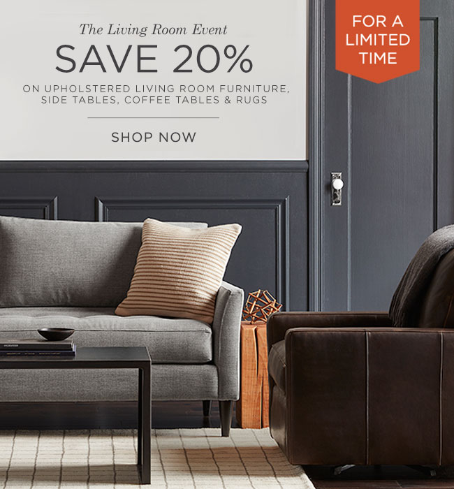 The Living Room Sale: Save 20%