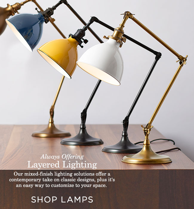 Always Offering: Layered Lighting