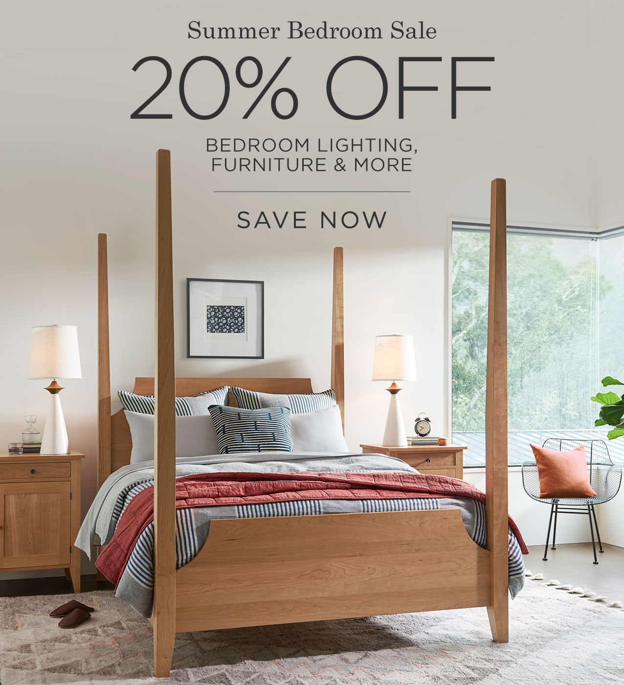 Shop the Summer Bedroom Sale