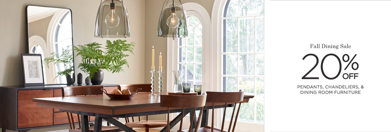 Fall Dining Room Sale