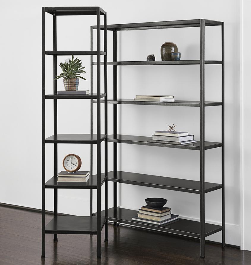 Metal Book Shelves ~ Shop by furniture collection rejuvenation