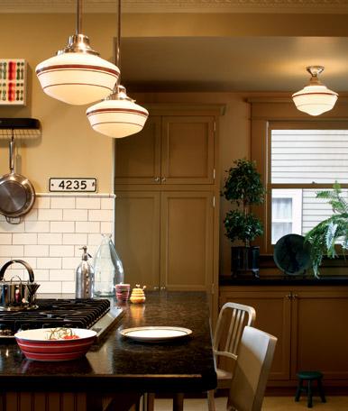 A charming nest schoolhouse lights - Schoolhouse lights kitchen ...