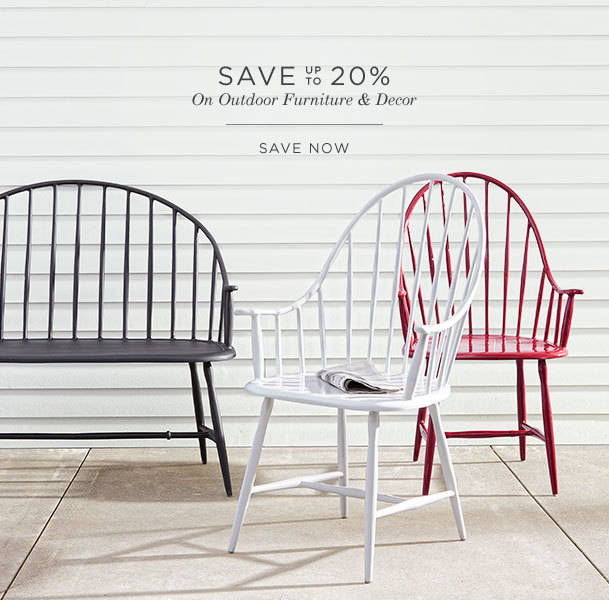Save Up To 20% on Select Outdoor