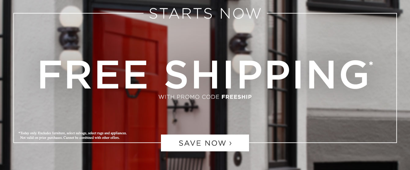 FREE SHIPPING - Starts Now