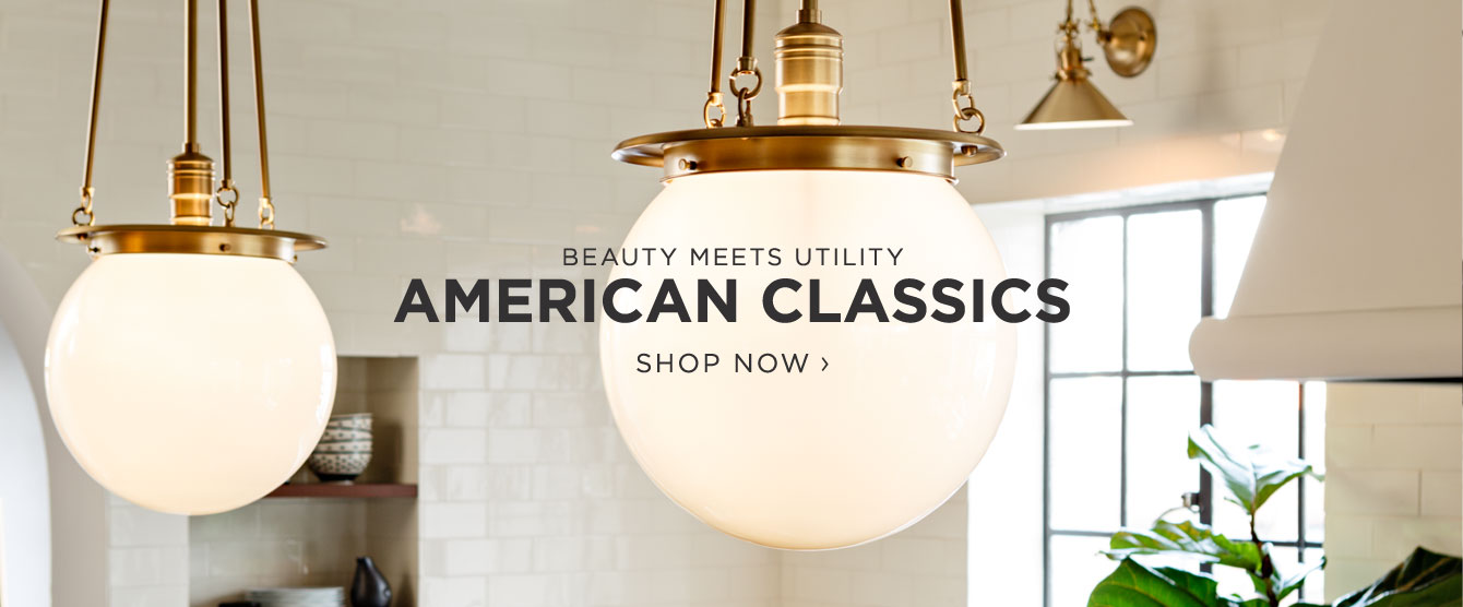 American classics for American classic lighting