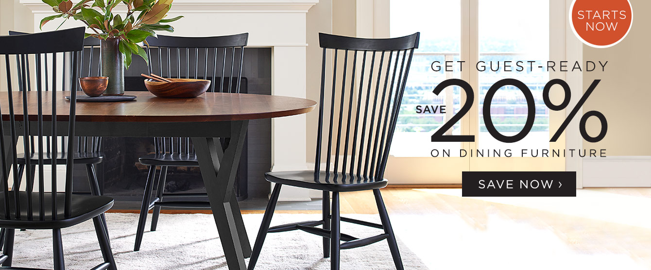 20% Off Dining Furniture