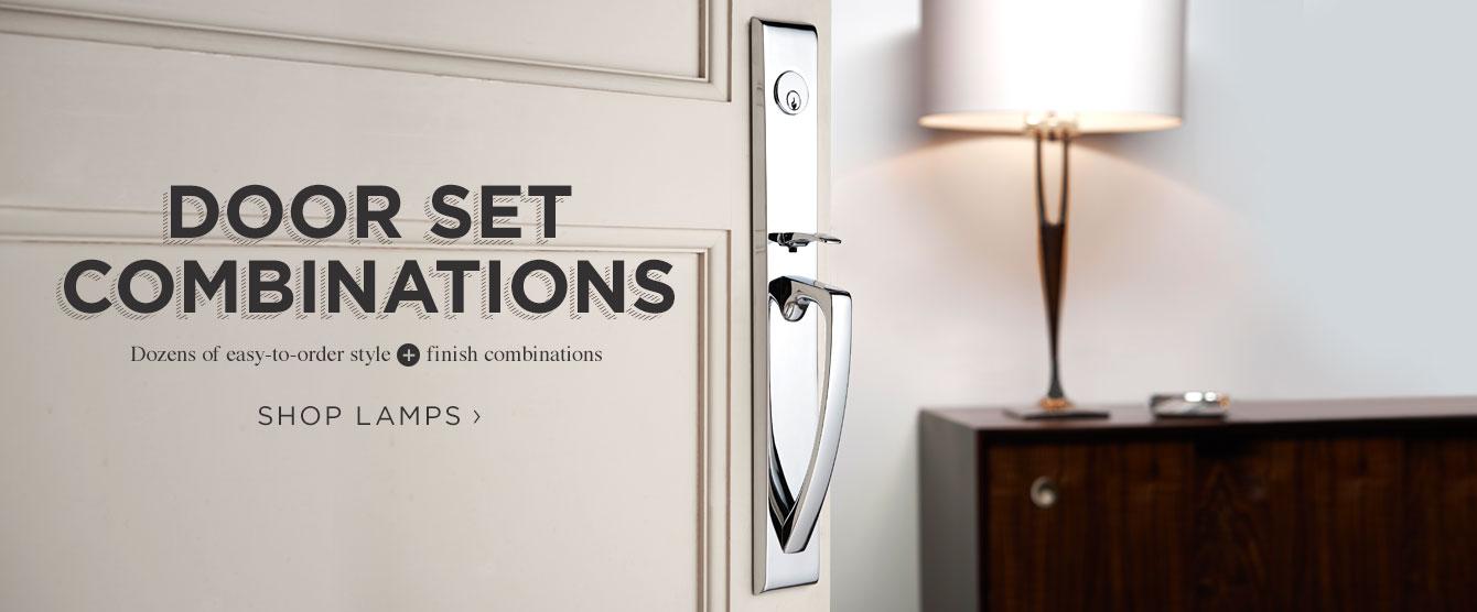 New Door set combinations