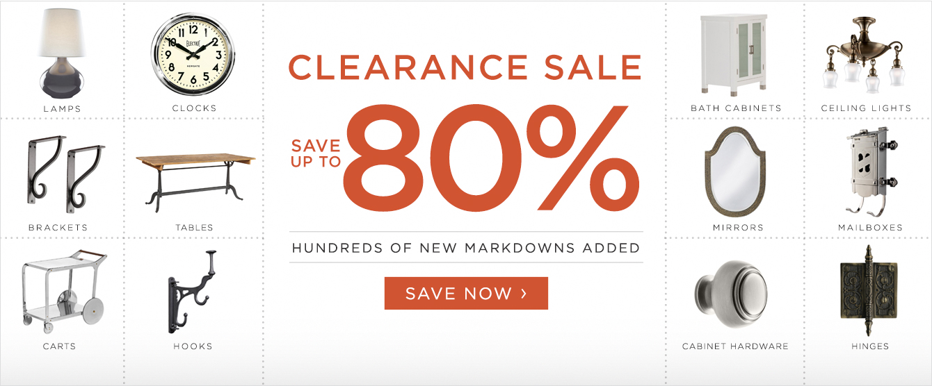 Clearance Sale - Up To 80% Off
